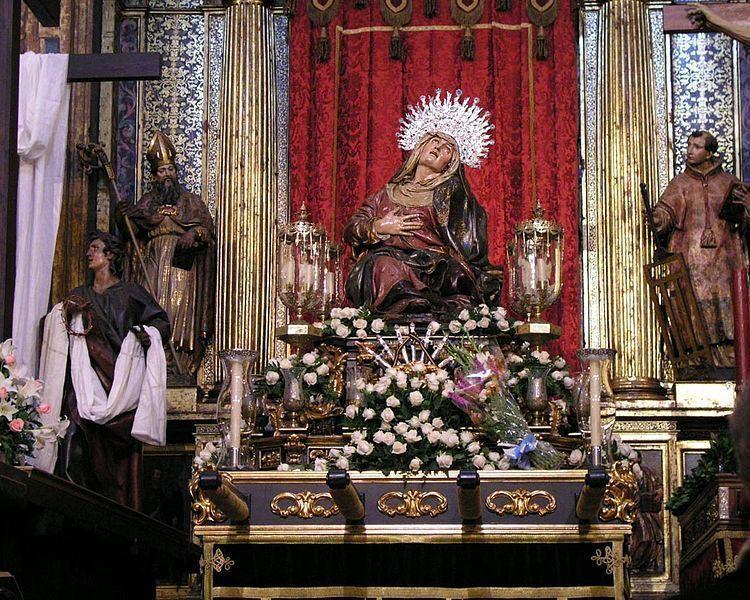 Nuestra Señora de las Angustias. Juan de Juni.