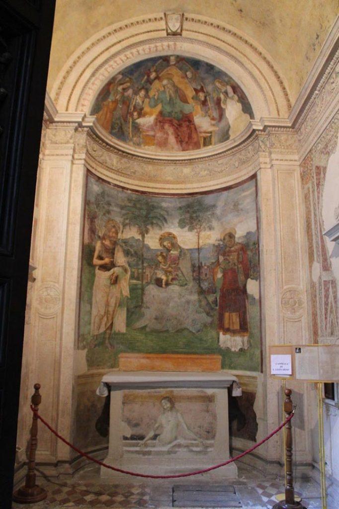 Capilla Eroli, pintada por Pinturicchio - Duomo.