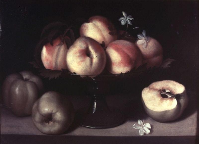 Fede Galizia. Bodegón. Hacia 1593. Colección privada, La Haya