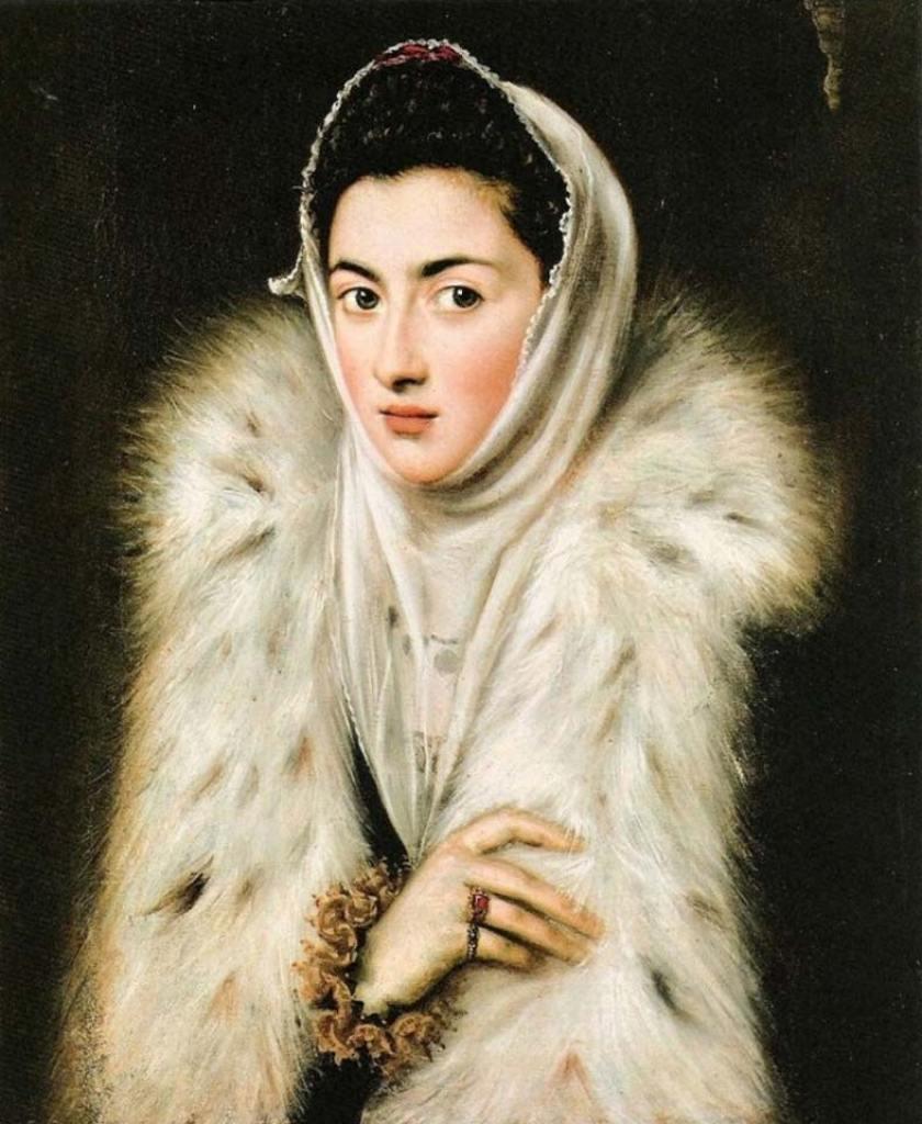 Isabel de Valois por Sofonisba anguissola.Museo del Prado. 1580