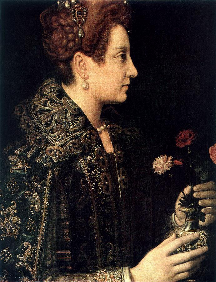 Retrato de dama, Sofonisba Anguisola. Hermitage de San Petersburgo.