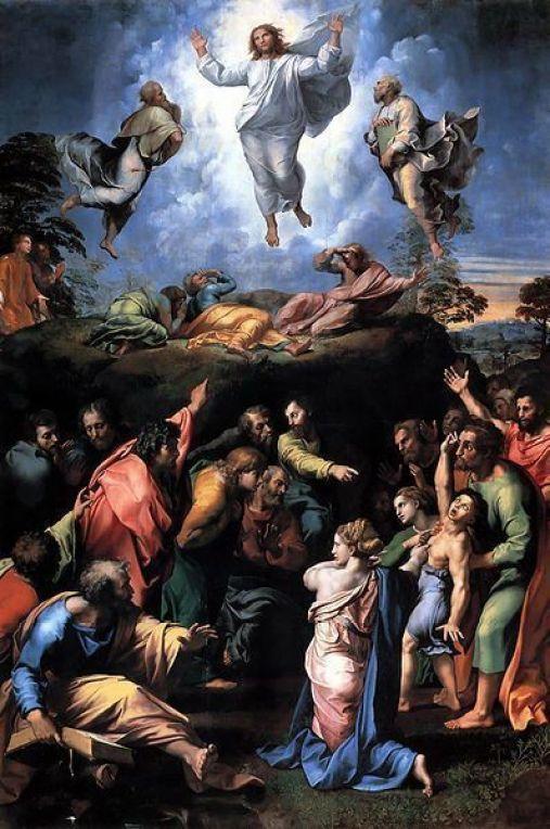 Transfiguración de Cristo, Rafael.