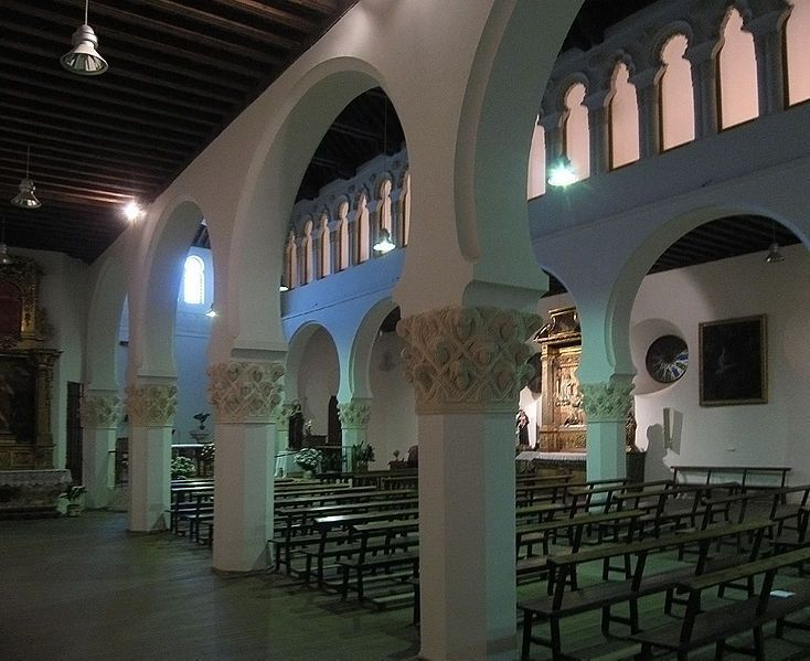 Iglesia del Corpus Christi, Sinagoga Mayor de Segovia.