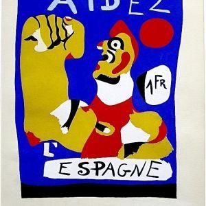 Aidez a l´Espagne, Joan Miró, 1937. Museo Nacional Centro de Arte Reina Sofía