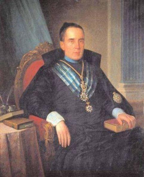 Retrato del Dean López Cepero, Antonio María Esquivel (Museo BBAA Sevilla)
