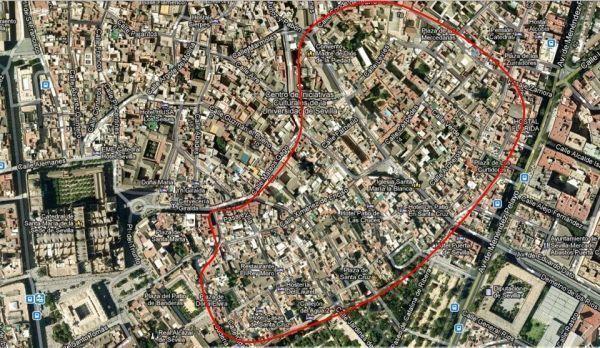 Zona de la ciudad de Sevilla donde se ubicó la judería