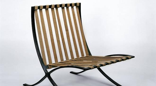 Silla Mies van der Rohe, 1929. Museo Nacional de Artes Decorativas