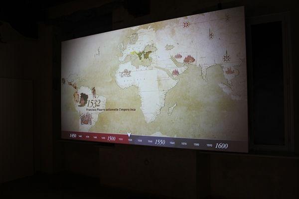 Vídeo sobre los cambios tras 1492 - Sala 1