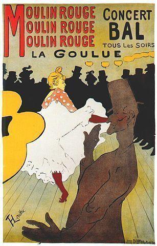 Lautrec - La Goulue (1891)