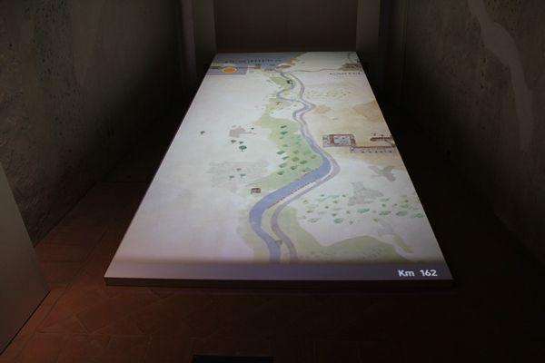 Mapa de Terra Ferma - Sala 2