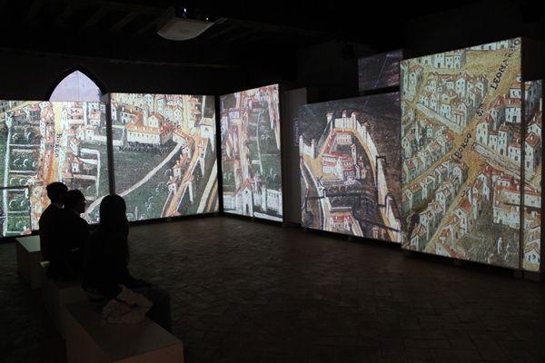 Vídeo sobre la ciudad de Bergamo - Sala 3