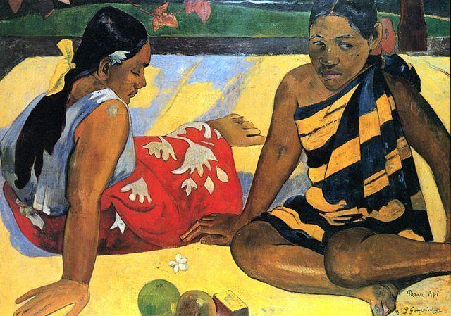 Paul Gauguin - Mujeres Tahitianas (1891)