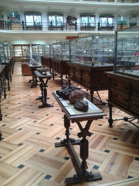 recursos tiflológicos del museo geominero
