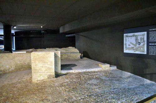 Restos de la capilla del castillo