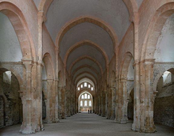Iglesia de la Abadía de Fontenay, Francia