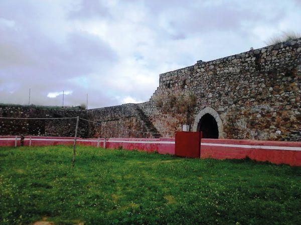 Interior del castillo (plaza de toros).