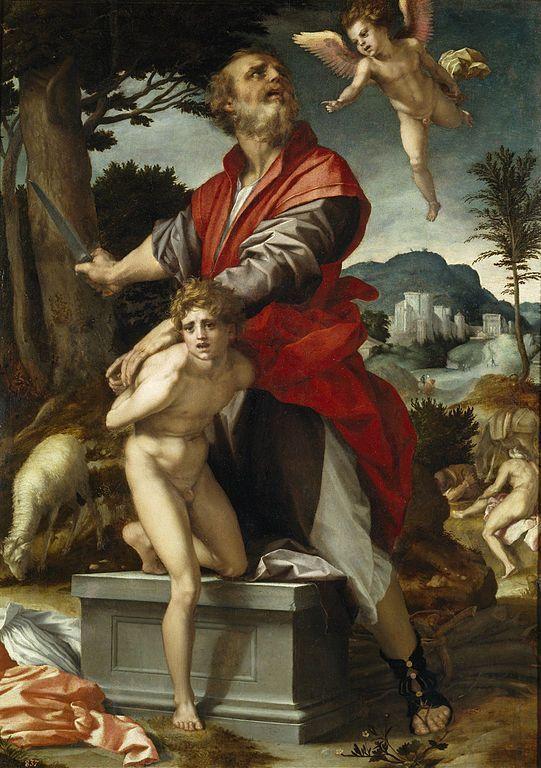 Andrea del Sarto, El Sacrificio de Isaac, 1528, Museo del Prado.