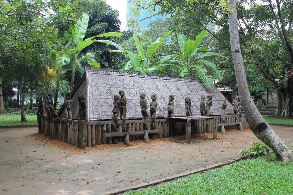 Tumba Girai, Museo Etnológico de Hánoi, Vietnam.