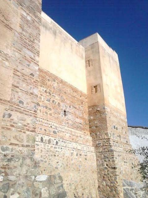 Castillo de Arocha, lienzo sur