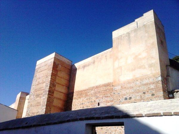 Castillo de Aroche, lienzo sur.