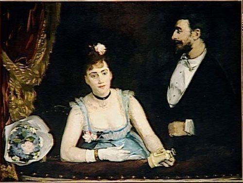 Eva Gonzalès, Un palco en los italianos, 1874