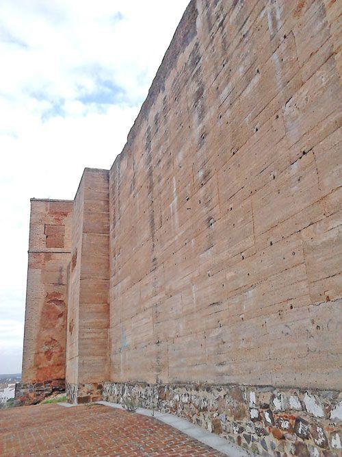 Detalle de los muros, Castillo de Cartaya.