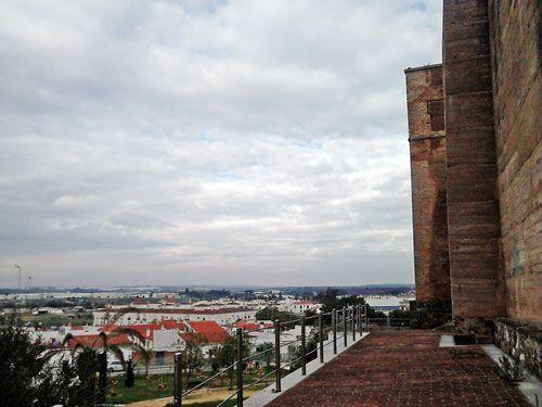 Entorno del Castillo de Cartaya.