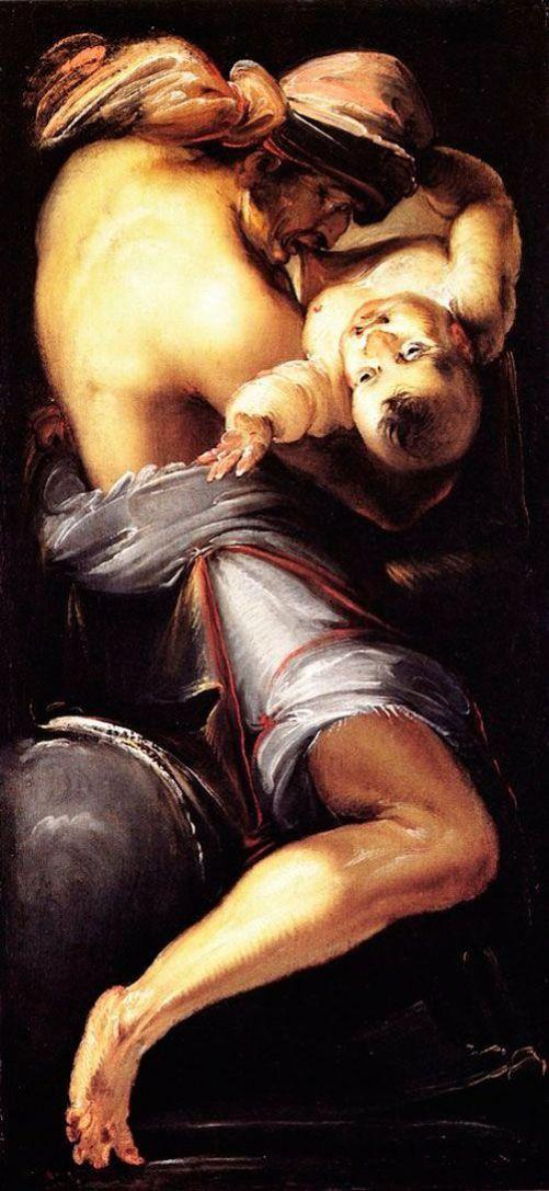 Daniele Crespi, Saturno devorando a su hijo, 1619.