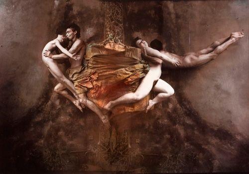 Jan Saudek, Dancers in Paradise.