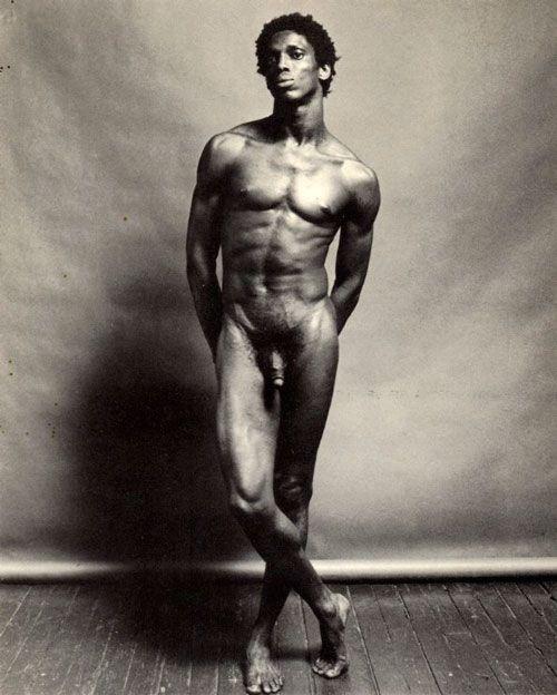 Robert Mapplethorpe, Allistair Butler, nude, 1980.