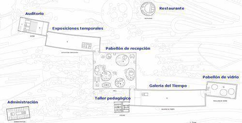 Plano de zonificación Estudio SANAA
