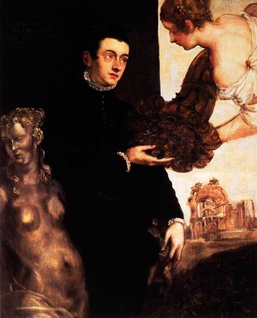 Marietta Robusti (Tintoretta), Retrato de Ottavio Strada, 1567-68, Stedelijk Museum, Ámsterdam