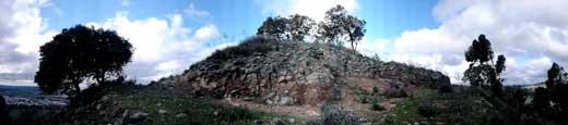 Vista panorámica del castillo de Pie Castillo