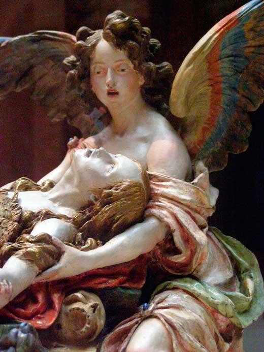 Muerte o éxtasis de María Magdalena, 1690, Hispanic Society