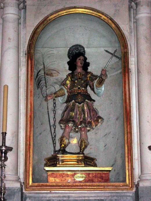 Luisa Roldán, San Servando, 1687, Catedral de Cádiz