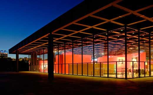 Mies van der Rohe, Nueva Galería Nacional de Berlín, 1968