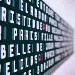 Instación en el Centre Georges Pompidou en París.