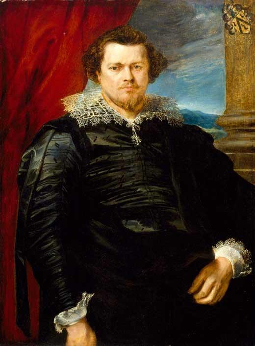 Anton van Dyck, Retrato de Jaspar de Charles van Nieuwenhoven, 1620,  Museo de Bellas Artes de Houston, Estados Unidos.