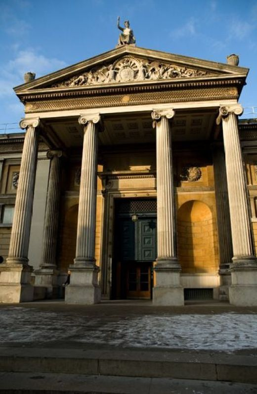 Ashmolean Museum of Art and Archaeology, 1678, Oxford, Inglaterra.