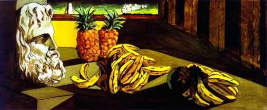 Giorgio de Chirico, El sueño transformado, 1913, Museo de Arte de Saint Louis, Estados Unidos.