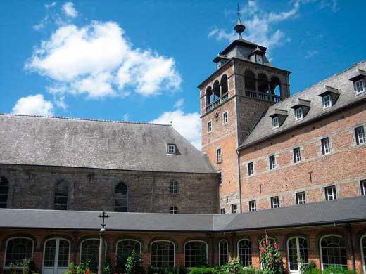 Abadía de Nuestra Señora de Leffe, Dinant, Bélgica.