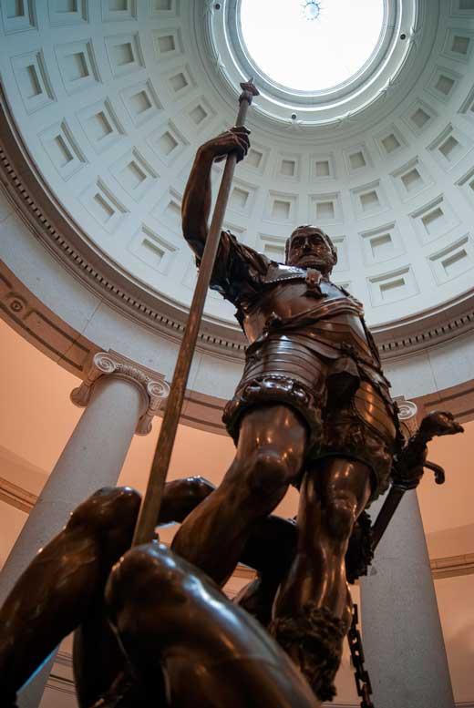 Escultura de Carlos V