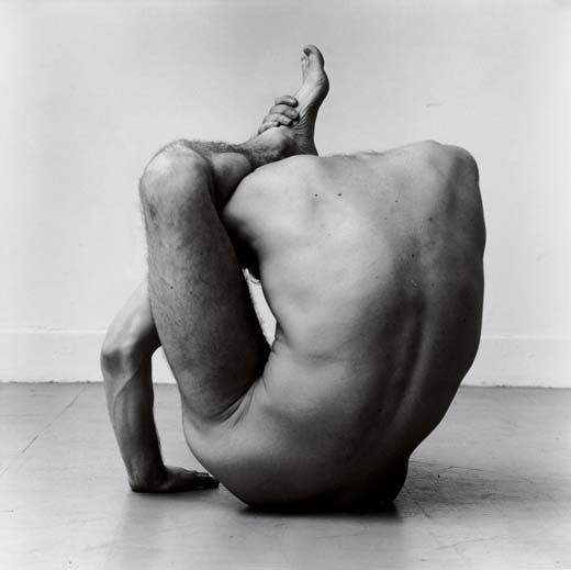 Peter Hujar, Gary contorsionándose