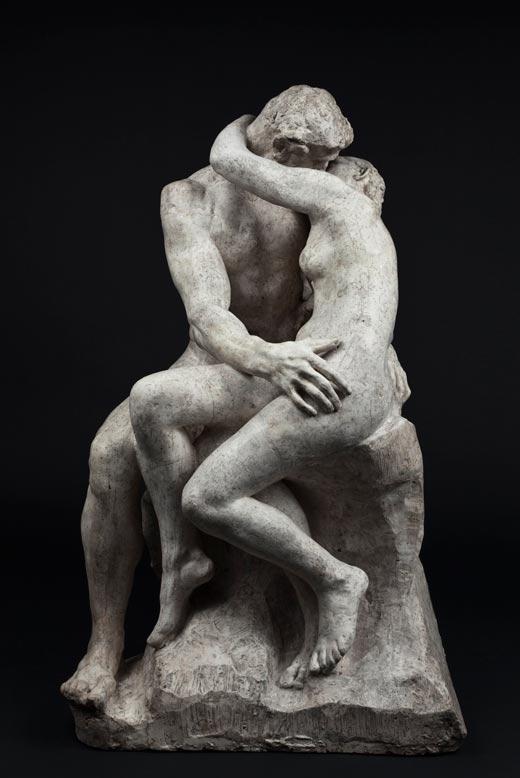 El beso, 1881-1882