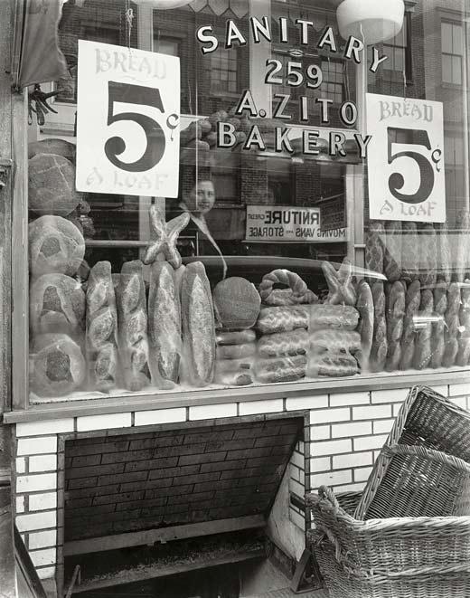 Fotografía de una panadería de Nueva York