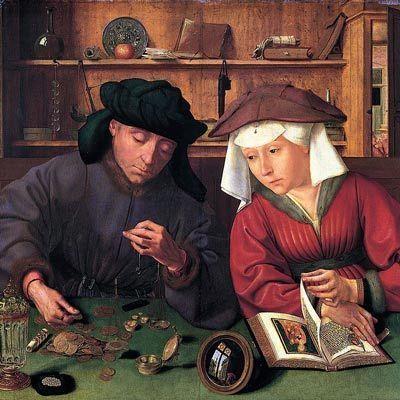 El cambista y su mujer