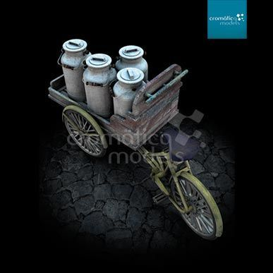 CM-35003 Delivery Tricycle with open cargo tray