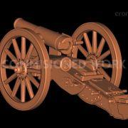 Krupp Mountain Gun for Wargaming