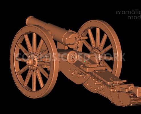 Krupp Mountain Gun for Wargaming