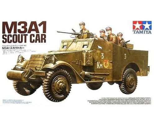 Tamiya 35363 · Soviet M3A1 Scout Car